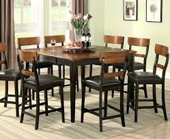 tall dining table and chairs tall dining room sets counter height dining table black dining room