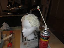 expanding foam helmet tutorial cosplay diy pinterest