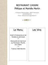 cours de cuisine martin cours de cuisine restaurant cassini n 9 ée ppt télécharger