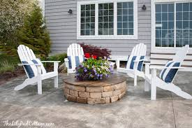 Firepit Chairs Saving My Outdoor Furniture The Lilypad Cottage