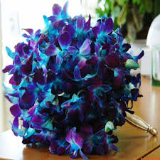 blue flowers for wedding purple and blue wedding flowers ipunya