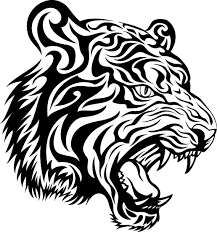 yin yang tiger and design in 2017 photo