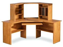 Corner Desk Organizer Wood Corner Desk Large With Storage Desktop Shelf Plans