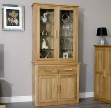solid oak china cabinet arden solid oak china cutlery dresser glazed cabinet dining room