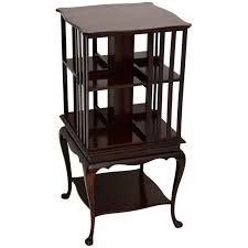 Revolving Bookcase Table Antique Edwardian Mahogany Revolving Bookcase At 1stdibs