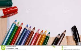 pencil drawing tools and materials drawing materials stock photo