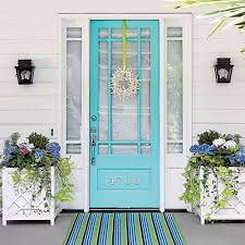 Cottage Doors Exterior Choosing A Color For Your Front Door Part One Bold Hues
