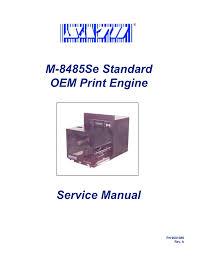sato m8485se service manual