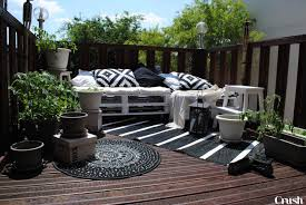 canapé exterieur en palette chambre decoration terrasse exterieure moderne photos canape
