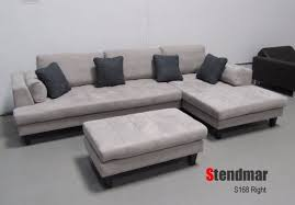 Gray Microfiber Sectional Sofa 3pc New Modern Gray Microfiber Sectional Sofa S168rg Wall S