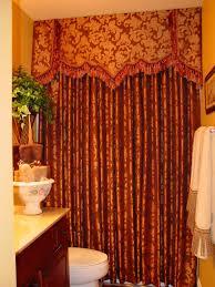 curtains shower curtains with valance bathtub shower curtain