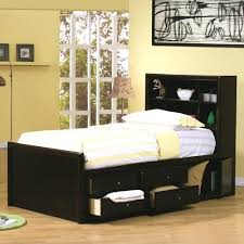 South Shore Twin Platform Bed Bookcase Twin Platform Bed With Bookcase Headboard Twin