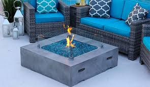 Concrete Firepit Akoya Concrete Pit Table The Pros Cons