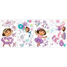 dora u0027s enchanted forest removable wall decals wall2wall