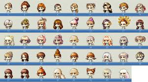 best vip hair cut maplestory female hairstyle faces collection outdated hair