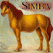 lion king horses simba unicornarama deviantart