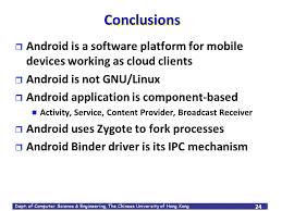 android zygote android an open software platform for mobile devices ppt