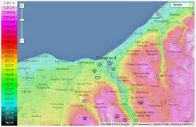 weather map ohio weather and climate in cleveland ohio climate controls climate