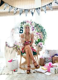 theme bridal shower malibu themed bridal shower it girl weddings