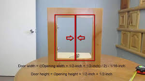 Acme Cabinet Doors How To Measure Cabinet Openings For New Cabinet Doors Youtube