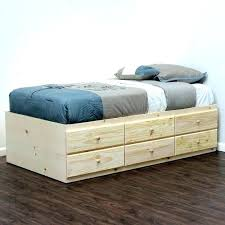 Bed Platform With Drawers Platform Bed With Drawers Best 25 Ideas On Pinterest Diy