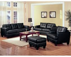 Black Leather Living Room Furniture Sets Living Room Awesome Leather Living Room Furniture Sets With
