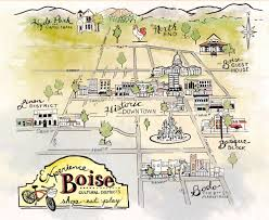 Idaho On Map Boise Guest House Downtown Boutique Lodging Bed U0026 Breakfast