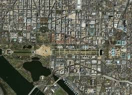 Map Of Dc Area D C Seen From Space Ghosts Of Dc
