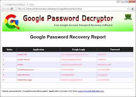 password decryptor free gmail gtalk talk