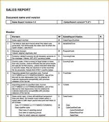 Sales Call Report Template Excel by Sales Call Report Template Pdf Sales Report Template 4 8 Sales