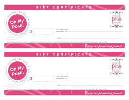 Good Stocking Stuffers Perfectly Posh Gift Certificates You Pick The Amount They Do The