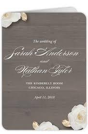 cardstock for wedding programs custom color wedding programs shutterfly