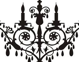 Black Chandelier Clip Art Chandelier Stunning Chandelier And Chandeliers Hanging Lights
