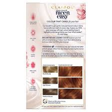 clairol nice n easy natural light auburn nice n easy 6r light auburn superdrug