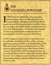 Louisiana Territory Map by The Louisiana Purchase