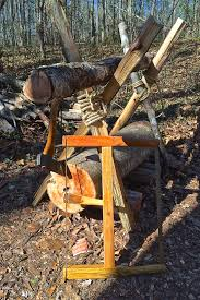 how to build a sturdy sawbuck with logs and survival sherpa