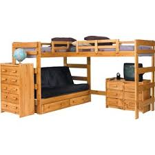 Bunk Bed With Desk For Adults Bunk Beds For Adults Wayfair