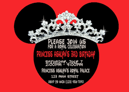 mouse clubhouse birthday invitation template free