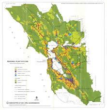 Map Of Bay Area Association Of Bay Area Governments Regional Plan 1970 199 U2026 Flickr