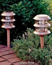 Lighthouse Garden Decor Solar Lighthouse Garden Decoration Gray For Ze Home