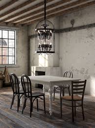 Home Interior Bird Cage Chandeliers Design Awesome Birdcage Chandelier Dining Wood â