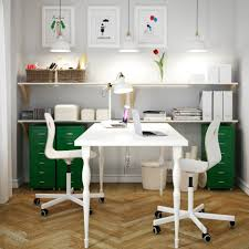desk for two two person home office desk modern t shape desk featuring two