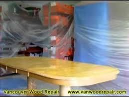 Dining Table Sanding Staining  Finishing YouTube - Sanding kitchen table