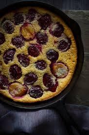 gluten free plum clafoutis healthy seasonal recipes