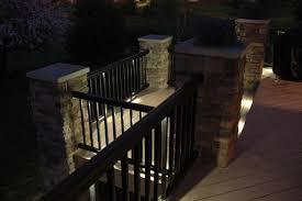 patio deck lighting ideas deck lighting ideas with impressive