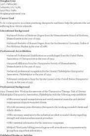 Chiropractic Resume Appealing Chiropractic Assistant Resume Sample 45 In Resume Sample