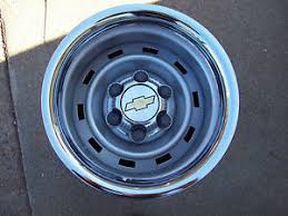 Wide Rims For Chevy Trucks Chevy Truck 4x4 Or 2wd 15x8 Steel Wheels 6 Lug Rally Steel Wheels