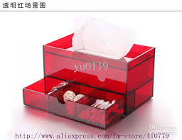 tissue paper box hanging acrylic tissue box hotel restaurant toilet paper box of