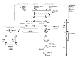 mitsubishi galant wiring diagram and schematics 1998