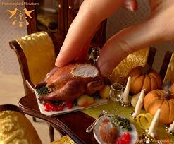 68 best thanksgiving in miniature images on dollhouses